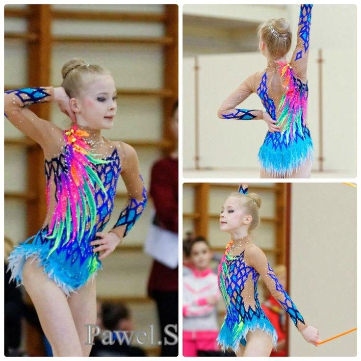 Rhythmic gymnastics leotard