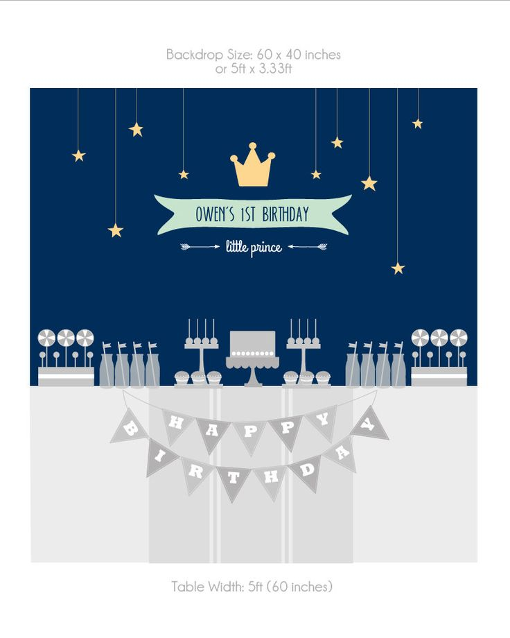Kleine Prinz Party-Dekorationen kleine Prinz von maydetails auf Etsy