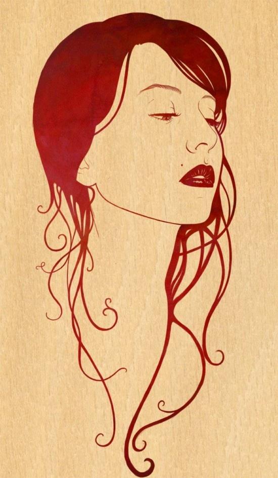 Orlagh Murphy Portraits Illustrations (6)