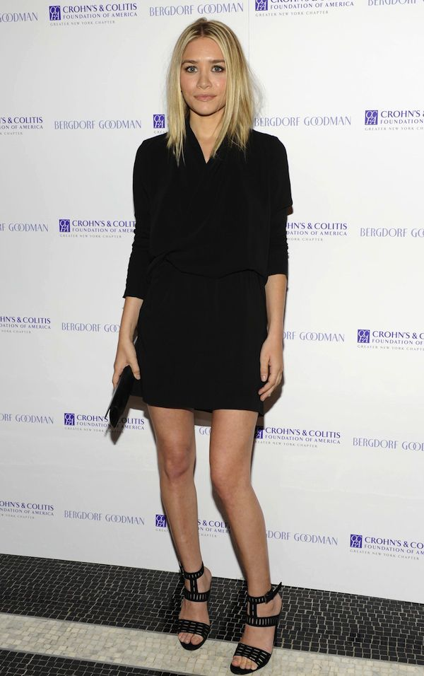 ASHLEY | SLEEK LONG BOB + BLACK DRESS - Olsens Anonymous