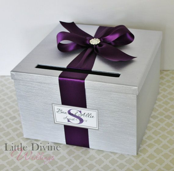 CUSTOM MADE 1 TIER WEDDING CARD BOX  ☆ Need it Super FAST? Shipping upgrades are available. Add to cart to view delivery options ☆  **Quality and