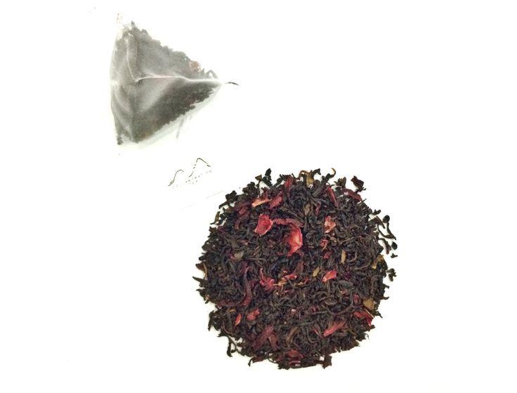 Passion Mansion - Passionfruit and Hibiscus tea blend by www.collabtea.com Wedding favours, tea favours