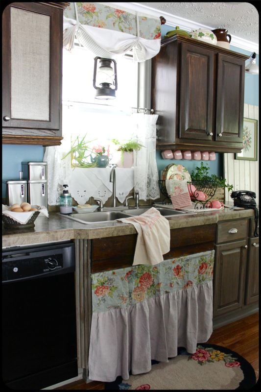 Find This Pin And More On More Cabinet Curtains