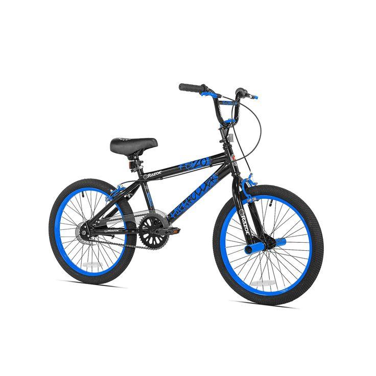 Razor 20-Inch High Roller BMX Bike, Blue