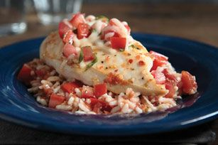Bruschetta chicken skillet. Made and approved...delicious!
