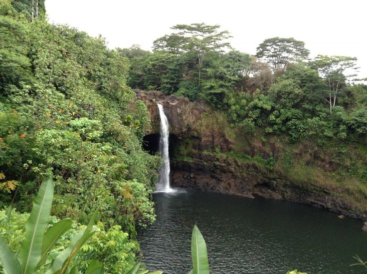 Aloha Friday Photo: Rainbow Falls in Hawaii