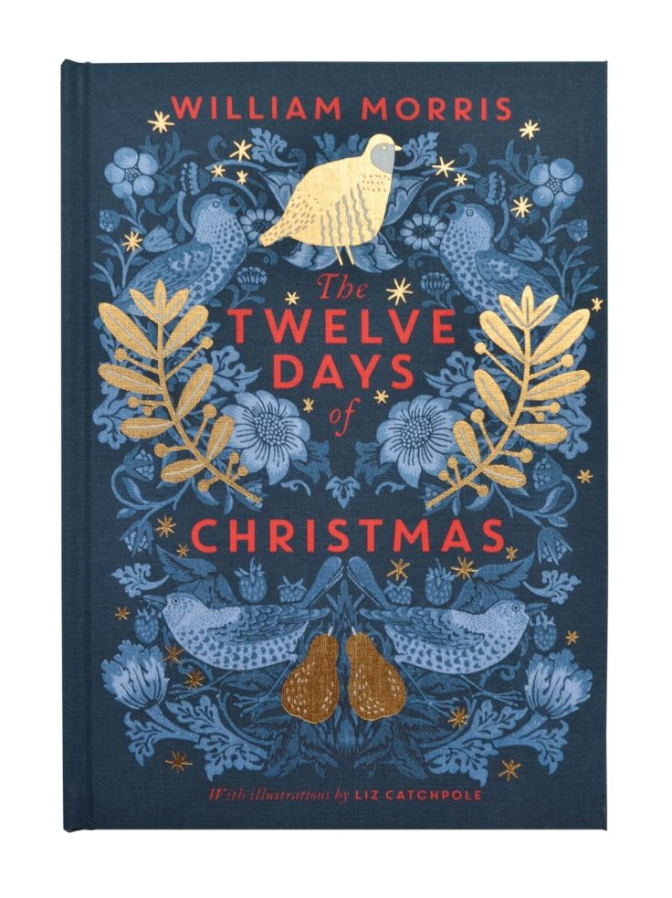 The V&A's Twelve Days of Christmas is a stunning book filled with hand-picked patterns from the V&A's collections. Featuring art work by William Morris and Charles Voysey, this is the perfect Christmas gift for any fan of art and design.