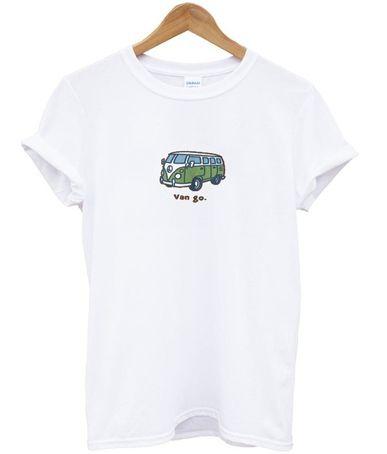 bd8894ac4e2 Van Go Bus Graphic T shirt in 2019