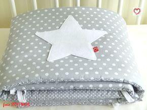 Nestchen - °°BETTNESTCHEN** - schönes Nestchen fürs Babybett - ein Designerstück von Lotta-Holgerson bei DaWanda