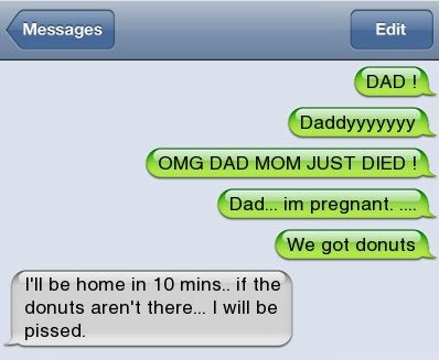Epic text - Dad - http://jokideo.com/epic-text-dad/