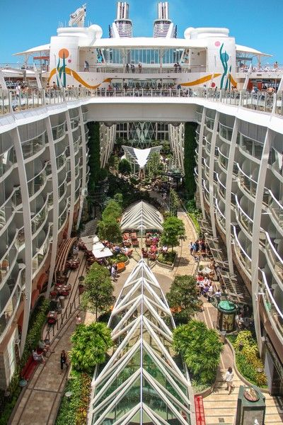 Central Park on the Allure of the Seas | Travel | Cruise ...