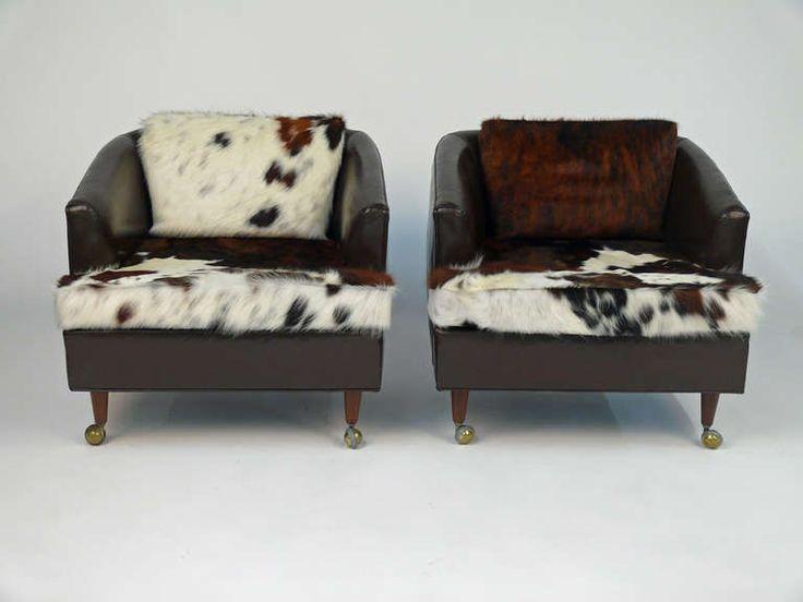 Cow Hide Chair   Buscar Con Google