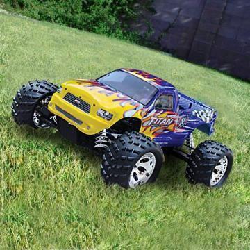 Joseph wants a toy monster truck!