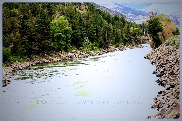 The river was cut by the world's great flood and runs over rocks from the basement of time ... A River Runs Through It #Livingston, #Montana, #locationmovie