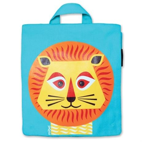 Coq en Pâte Mibo Lion Backpack      Price: $45.95    Description:  Have your little one stand out with this stylish and unique Lion backpack by French Coq en Pâte!  Perfect as a first day of school gift, kinder or to carry around on outings for all necessities plus a favourite toy!  Makes a gorgeous baby gift with a difference as well!  http://www.littlebooteek.com.au/categorylist.aspx