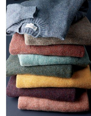 Cashmere will never be out of style. The soft, fine fabric will help you battle the cold and still look fabulous. Whether it's a sweater or a beanie, cashmere will be a good investment.