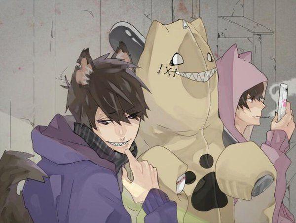 Osomatsu-san- Ichimatsu, Jyushimatsu, and Todomatsu #Anime「♡」Dogs 2/2