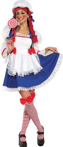 Rag Doll Costume  XSmall  Dress Size