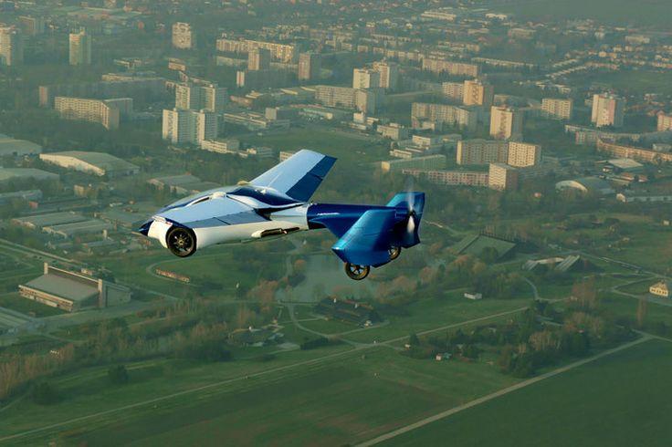 Aeromobil : la voiture volante !