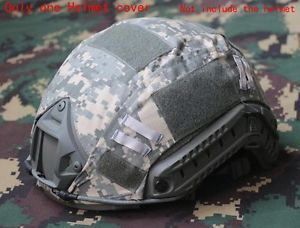 sale Outdoor Airsoft Paintball Tactical Military Combat Fast Helmet Cover ACU | eBay