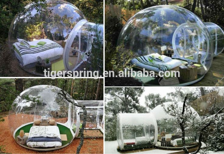 Cheap outdoor transparent inflatable lawn bubble lodge tent for camping