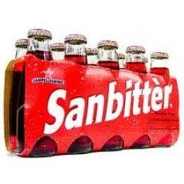 ItalyDepot.com - San Pellegrino Sanbitter Red Bitter- 10 Bottles (100mL each), $12.99