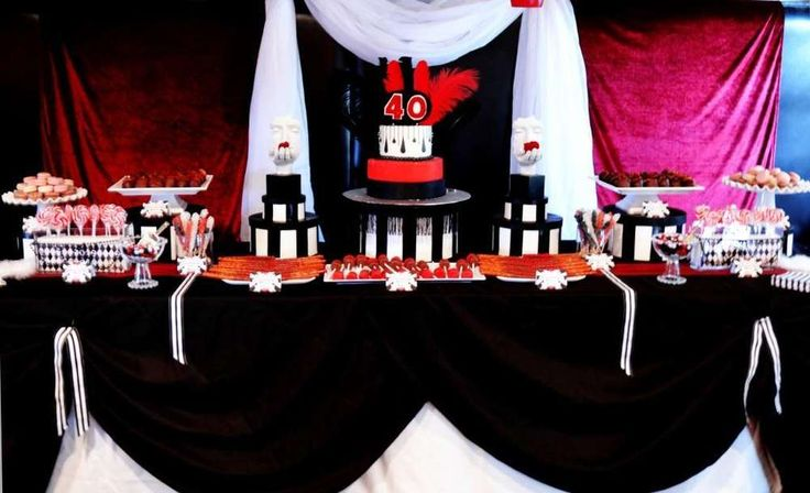 Moulin Rouge Birthday Party Ideas | Photo 14 of 16 | Catch My Party