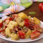Insalata di patate pomodorini e Pesto al Basilico