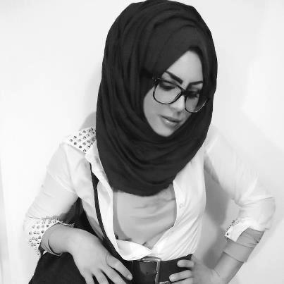 Glasses hijabi