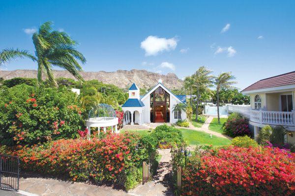 ダイヤモンドヘッド・アネラ・ガーデン・チャペル ハワイ H.I.S.ウェディング「アバンティ&オアシス」