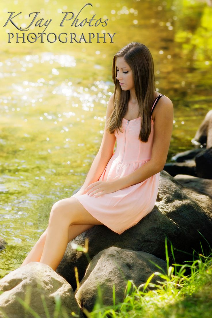 Something beautiful.  Golden light, soft colors, pretty high school senior pictures for girls by K Jay Photos Photography. www.kjayportaits.com