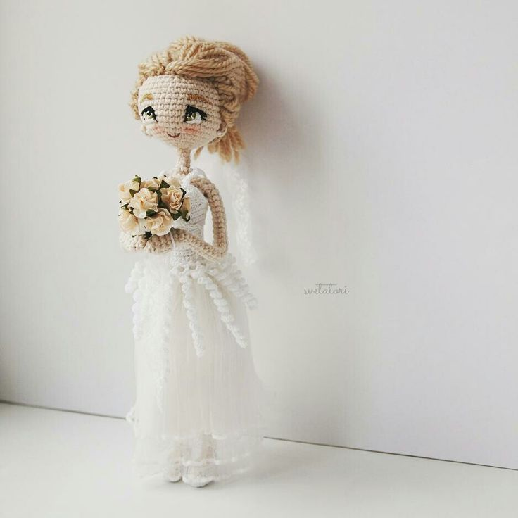 No pattern but gorgeous doll.