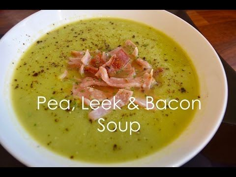 Slimming World Pea, Leek and Bacon Soup   Syn free   Extra Easy SP - YouTube