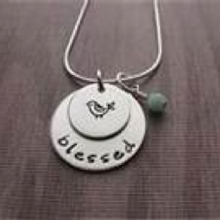 .blessed necklace
