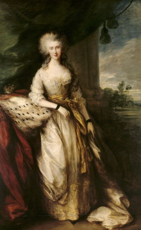 CAROLINE CONOLLY by Thomas Gainsborough, painted in 1784 at...
