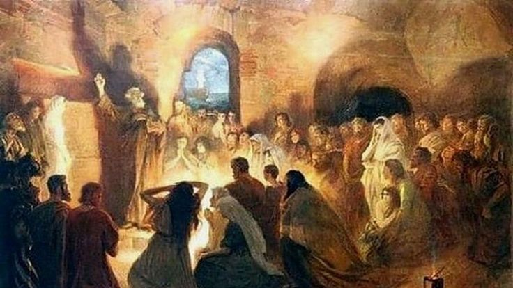 В чем была особенность и успешность первой церкви? Эрик Джонсон проповедует на эту тему.