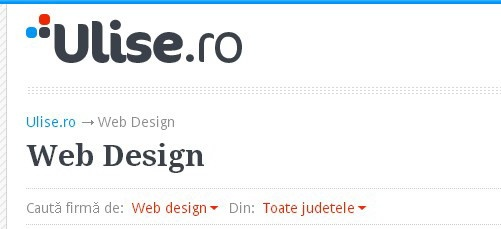 http://www.ulise.ro/web-design   Cele mai relevante firme si PFA-uri ce ofera servicii de design web / website development, creare site-uri si magazine virtuale, aplicatii mobile.