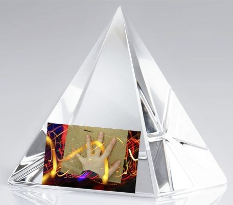 All Music Crystal Pyramid