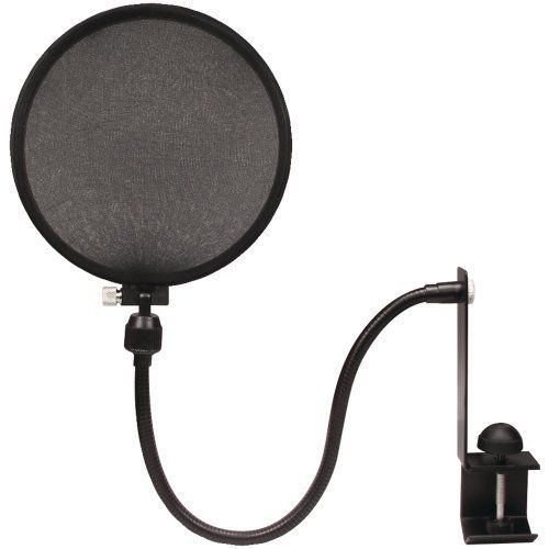Nady MPF-6 6-Inch Clamp On Microphone Pop Filter by Nady. $17.31. Mic Pop Filter With Boom. Save 31%!