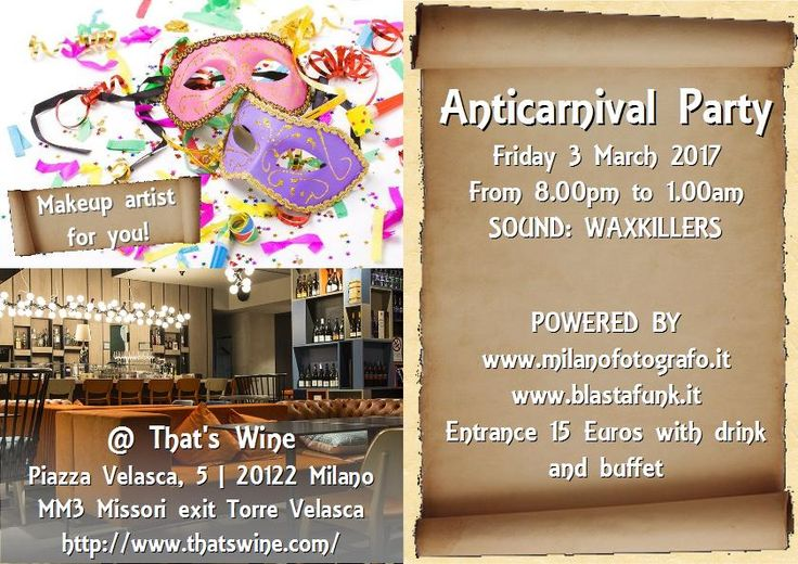 Anticarnival Party