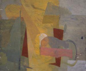 """Finally Home""  50×60 cm tempera painting on canavas"
