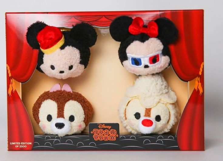 San Diego Comic-Con Exclusive Mickey's Movie Theater Tsum Tsum Box Set