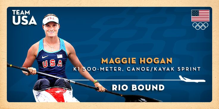 Maggie Hogan Is First U.S. Canoe Sprint Athlete To Qualify For Rio 2016