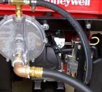 convert generator to natural gas propane