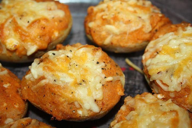 Patatas rellenas de atún y huevo (Cecofry)