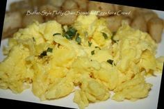 Buffet-Style Fluffy Oven Scrambled Eggs For A Crowd