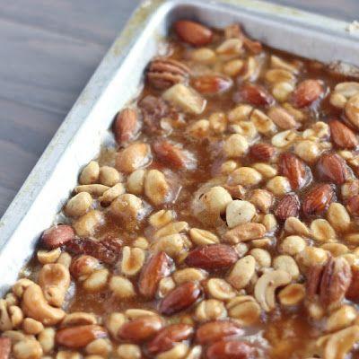Salted Nut Bars Recipe Recipe - Key Ingredient