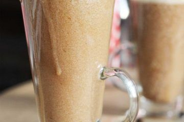 Healthy Coffee Smoothie Recipe.  Skinny blog