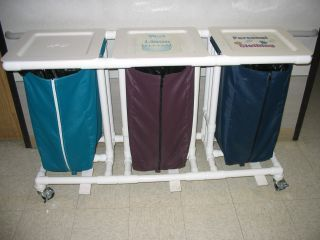 Home Recycling Center or Laundry Bins
