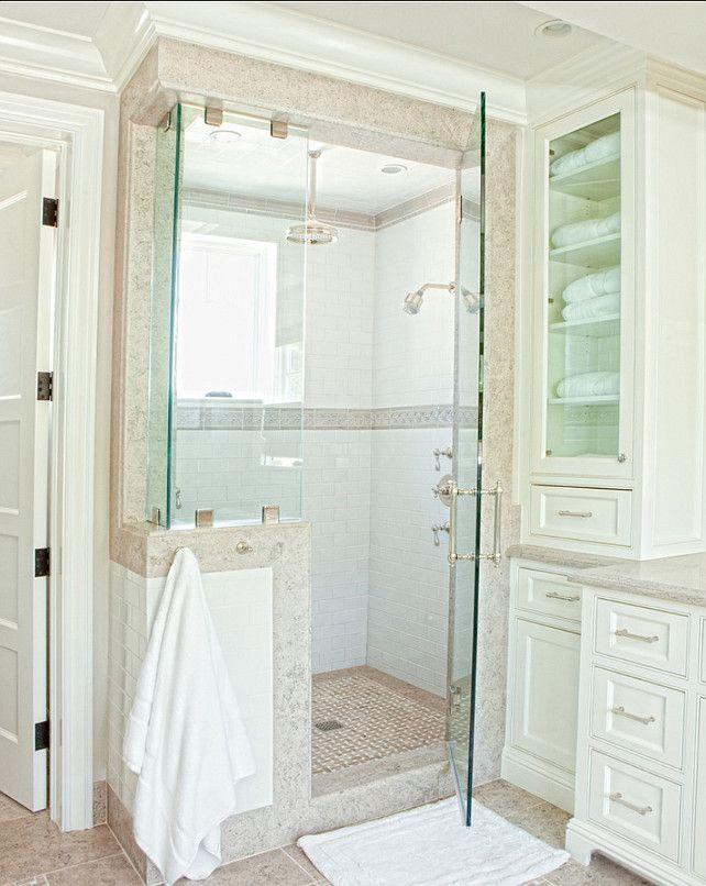 Bathroom Shower. Shower Ideas. #Bathoom #BathroomShower #ShowerDesign